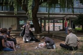 Paula Kramer, Nigel Clark & Simo Kellokumpu - Open human/non-human work space